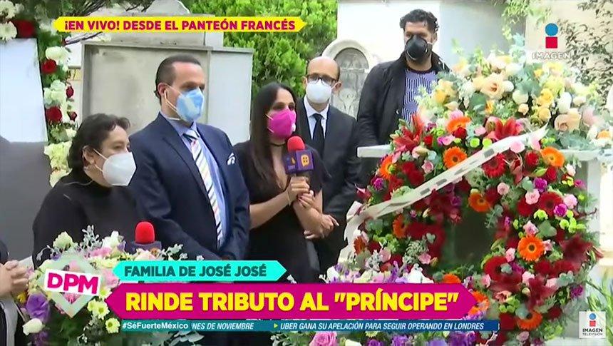 ¿Hijos de José José vendieron la exclusiva del homenaje?