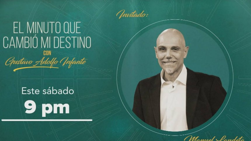 Manuel Landeta en 'El minuto que cambió mi destino'