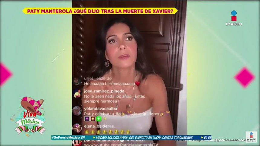¿Qué sintió Paty Manterola al enterarse de muerte de su ex?