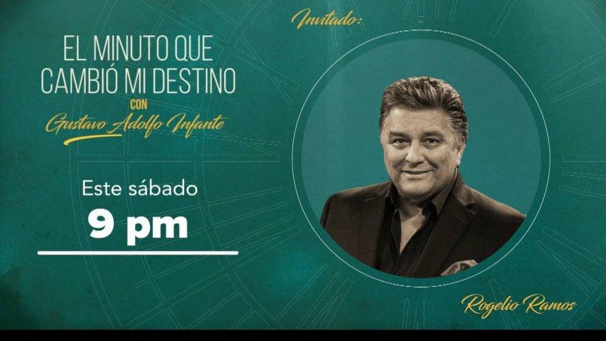 Rogelio Ramos en 'El minuto que cambió mi destino'