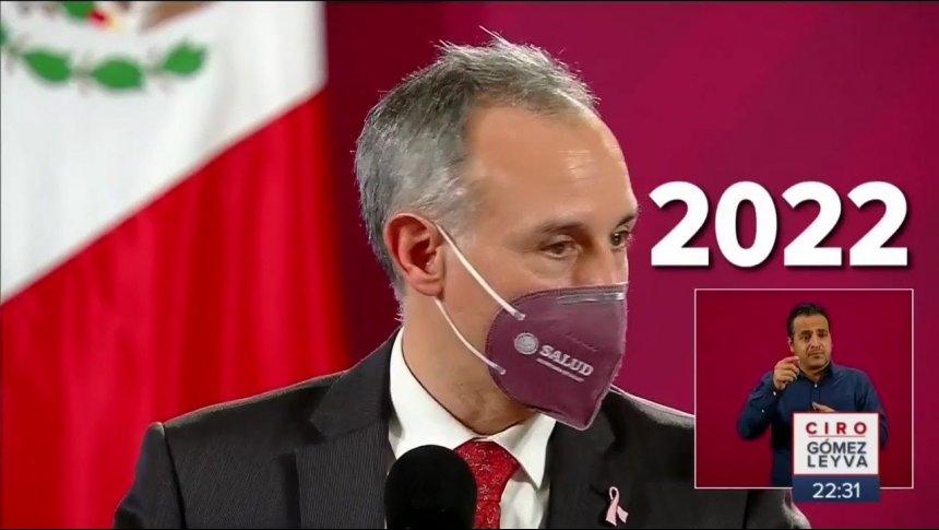 Pandemia del Covid durará hasta 2022: López-Gatell