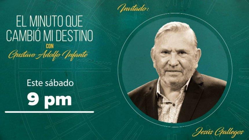 Chucho Gallegos en 'El minuto que cambió mi destino'
