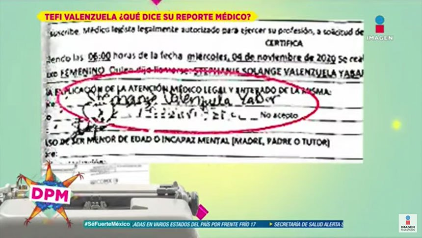 ¿Tefi Valenzuela presenta daño psicológico?