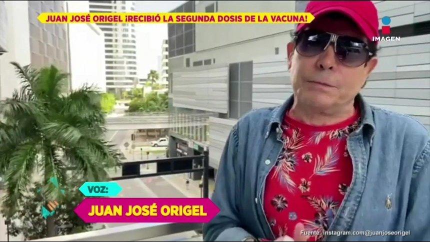Pepillo Origel recibe segunda dosis de vacuna y de ataques