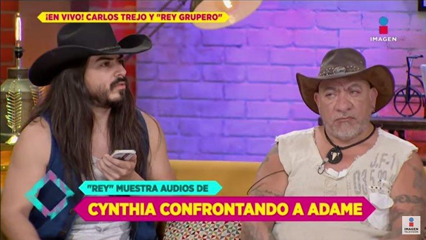 Rey Grupero y Carlos Trejo vs Adame: orden de restricción