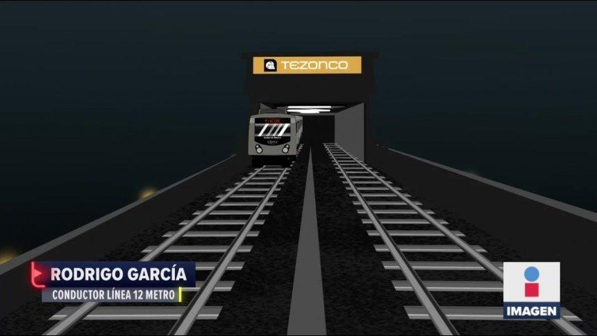 Tren se zangoloteaba entre Tezonco y Olivos: conductor