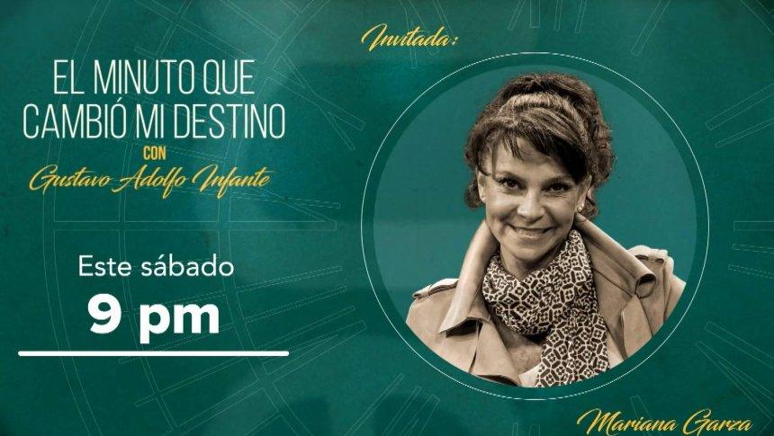 Mariana Garza en 'El minuto que cambió mi destino'