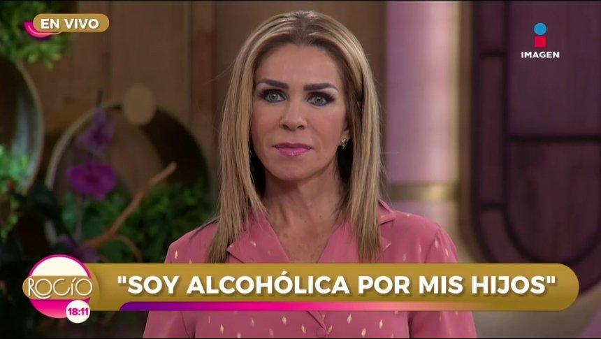 'Soy alcohólica por mis hijos y ahora me lo reprochan'