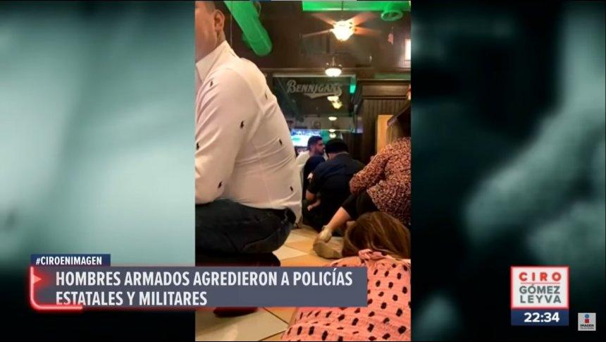 Familias quedan atrapadas durante fuego cruzado en Matamoros